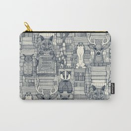 books and blankies indigo pearl Carry-All Pouch