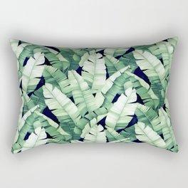 Banana leaves III Rectangular Pillow