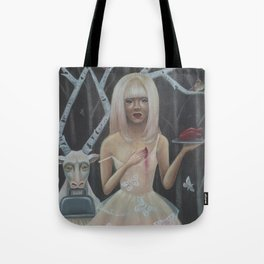 In The Birch Trees- Print Version Tote Bag