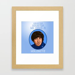 Howard Wolowitz astronaut Framed Art Print
