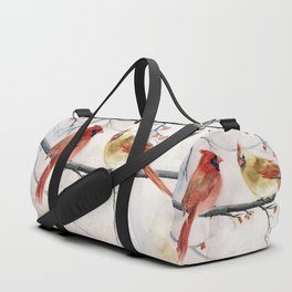 Just The Two Of Us Duffle Bag