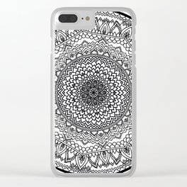 Pattern IV Clear iPhone Case