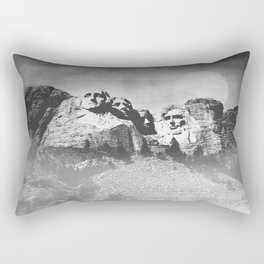 Rushmore at Night Rectangular Pillow