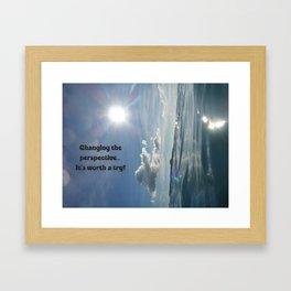 uNdEr WaTeR vIeW Framed Art Print