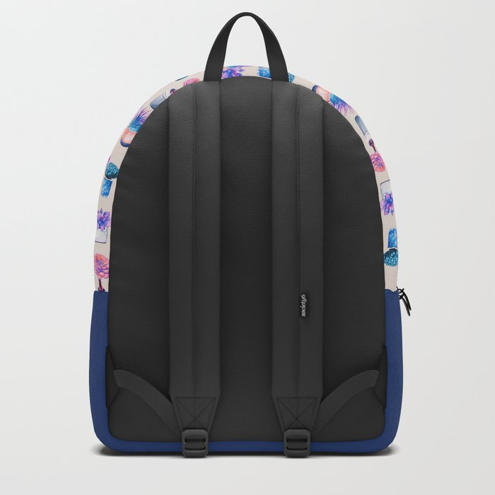 Succulents Cactus pattern Backpack