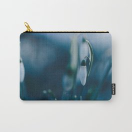 Snowdrops. Carry-All Pouch