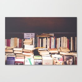 French Books Canvas Print