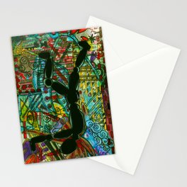 Push On // Push OFF Stationery Cards