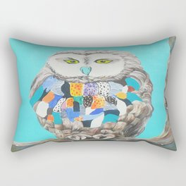 Imaginary owl Rectangular Pillow