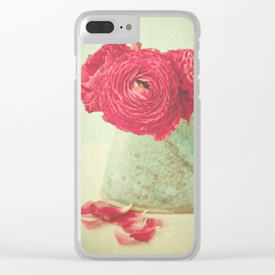 Joyful Clear iPhone Case