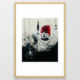 But the Fourth One's Out Framed Art Print