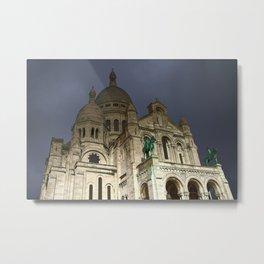 Sacré-Cœur Basilica Metal Print