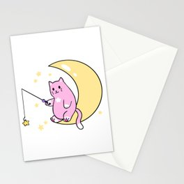 catching moonbeams Stationery Cards