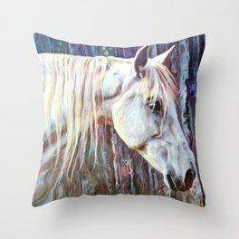 Equus II Throw Pillow