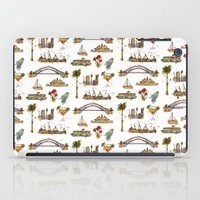 sydney iPad Cases featuring Sydney by Jess Stewart-Croker
