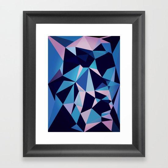 blux Framed Art Print