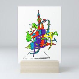 this thing Mini Art Print