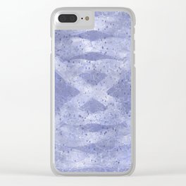 Hour Glass DNA Pattern Clear iPhone Case