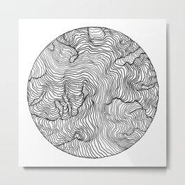 Riptide Metal Print