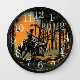 In the Evening (version 2) Wall Clock