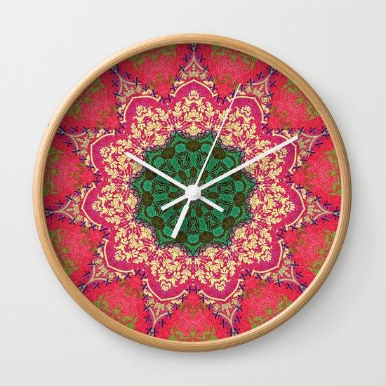 Royal Mandala 1 Wall Clock