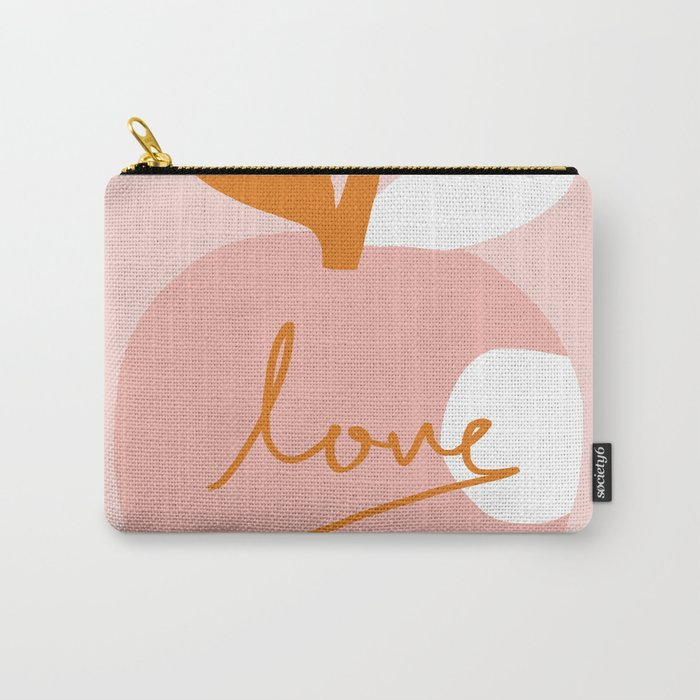 Abstraction_LOVE_BITE Carry-All Pouch