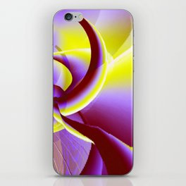Dancing to the moon iPhone Skin
