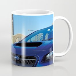 Subie at the terminal Coffee Mug