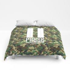 PAUSE – Camo Comforters