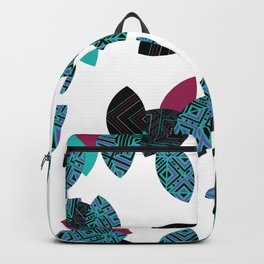 Aztec leafs Ioo Backpack