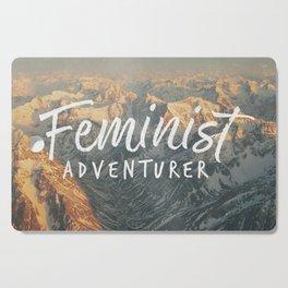 Feminist Adventurer Cutting Board