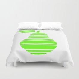 Light Green Pear Duvet Cover