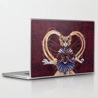 """sailormoon Laptop & iPad Skins featuring Steampunk Sailormoon by Barbora """"Mad Alice"""" Urbankova"""