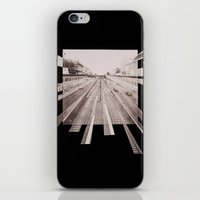 subway iPhone & iPod Skins featuring Subway by PSYCHO