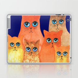 Annapolis Whimsical Cats Laptop & iPad Skin