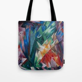 "Franz Marc ""Birds"" Tote Bag"