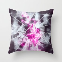 Shattered Love Throw Pillow
