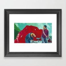 Return to Ruby Mountain Framed Art Print