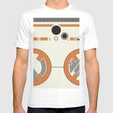 BB-8 White Mens Fitted Tee MEDIUM