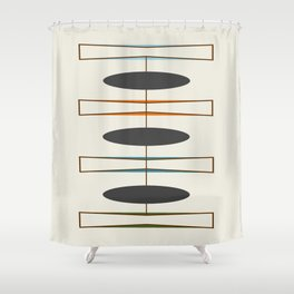 Mid-Century Modern 1.1 Shower Curtain