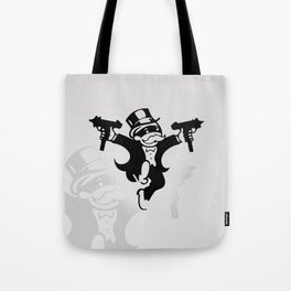 Monopoly Gangster Tote Bag