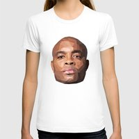wes anderson T-shirts featuring Anderson Silva Vector by QUAPEX
