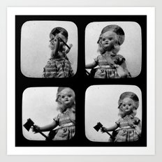 Little Lizzie Borden TtV I Art Print