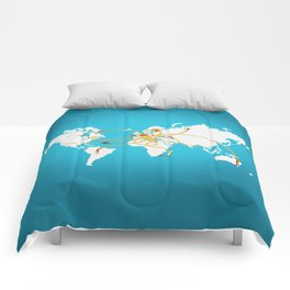 The Spaghetti Connection Comforters