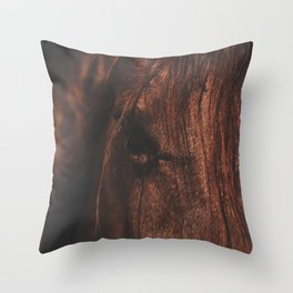 Horse - Sioux Throw Pillow