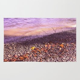 Lake Windermere Shore, The Lake District - Nature Photography Rug