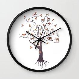 Irony of Life Wall Clock
