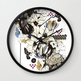 Hummingbird River Wall Clock