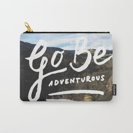 Adventurous // #TravelSeries Carry-All Pouch
