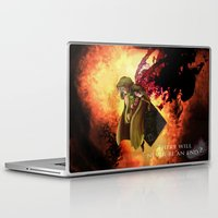 dark souls Laptop & iPad Skins featuring Dark Souls 2 Emerald Herald - Shanalotte  Tribute by Axsikio